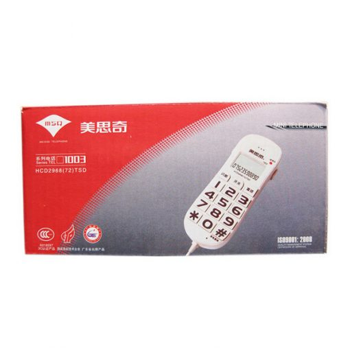 Siqi 1003 Fixed Telephone  Line Landline Tester - White