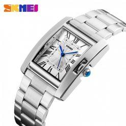 Skmei 1284 30M Waterproof Analog Women's Watch - Silver