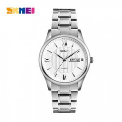 SKMEI 1261 Zinc Alloy 30 Meters Water Resistant Business Watch - Silver
