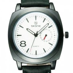 Skone Leather Wrist Watch - Green