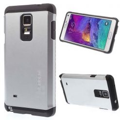 Slim Armor Case For Galaxy Note 4 - Gray