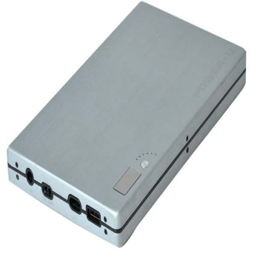 Smart Battery Power Bank 33600mah For Laptop - Silver