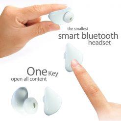 Smart Bluetooth Headset - White