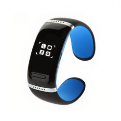 Smart Touch Screen Bluetooth V3.0 Watch Bracelet - Blue