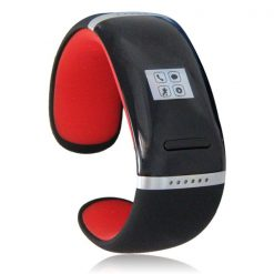 Smart Touch Screen Bluetooth V3.0 Watch Bracelet - Red