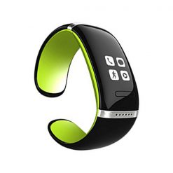 Smart Touch Screen Bluetooth V3.0 Watch Bracelet - Green