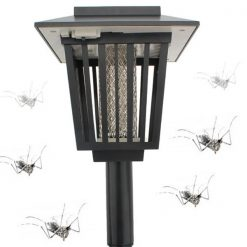 Solar Powered Garden Light And Mosquito Killer