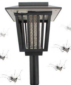 Solar Powered Garden Light And Mosquito Killer