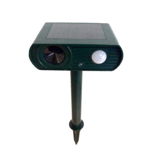Solar Powered Ultrasonic Animal Repeller