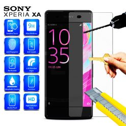 Tempered Glass Screen Protector For Sony XA