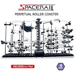Spacerail Outer Space Track Ball Toy Roller Coaster Level-4 - Black