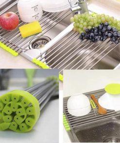 Stainless Kitchen Sink Drain Rack
