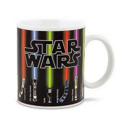 Star Wars Light Saber Heat Change Mug - Black