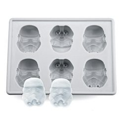 Storm Trooper Silicone Ice Tray - White
