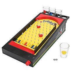 Sudsball Pinball Drinking Game - Black