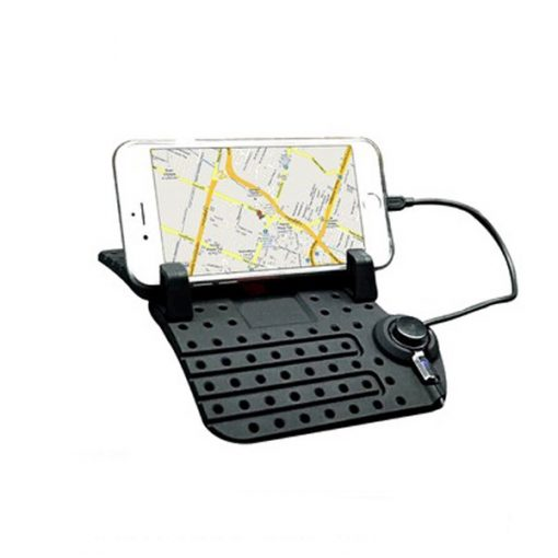Super Flexible Smartphone Car Holder - Black
