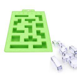 Tetris  Ice Cube Tray - Green