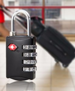 TSA309  4 Digit Lock  - Black