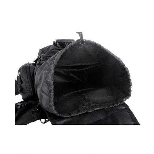 Tactical Multifunction Shoulder Body Bag - Black