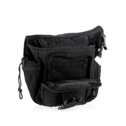 Tactical Multifunction Shoulder Body Bag - Black
