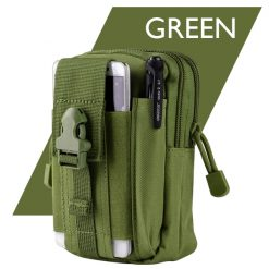 Tactical Military Outdoor Molle Waist Bag Utility Pouch - Green