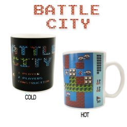 Tank Battles Color Changing Mug - White