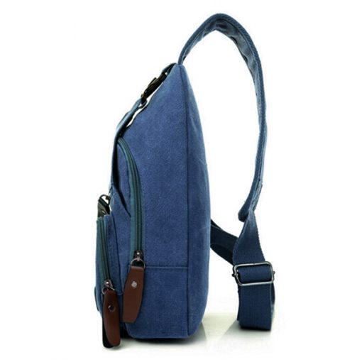 Tao Tao Single Strap Body Bag - Blue