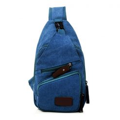 Tao Tao Single Strap Body Bag - Blue