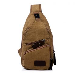 Tao Tao Single Strap Body Bag - Brown