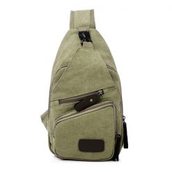 Tao Tao Single Strap Body Bag - Green
