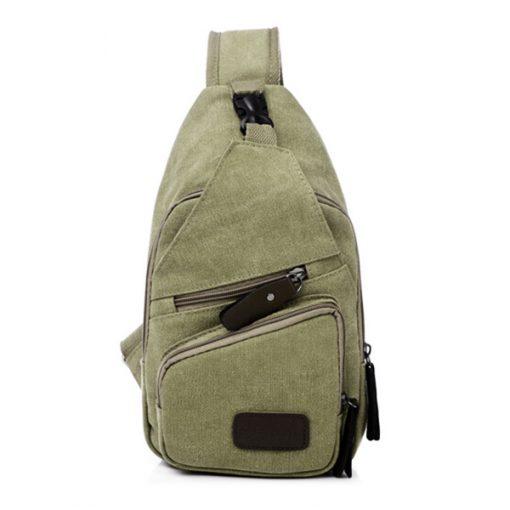 Tao Tao Single Strap Body Bag - Green