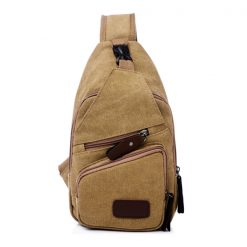Tao Tao Single Strap Body Bag - Khaki