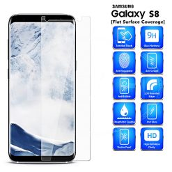 Tempered Glass Film Screen Protector for Samsung S8