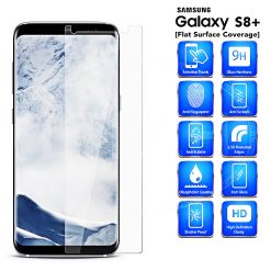 Tempered Glass Film Screen Protector for Samsung S8 Plus