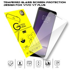 Tempered Glass Film Screen Protector for Vivo V7 Plus