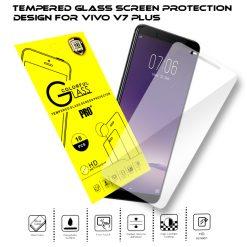 Tempered Glass Film Screen Protector for Vivo V7 Plus