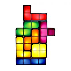 Tetris Light Lamp