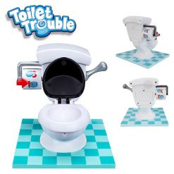 Toilet Trouble Mini Game - White