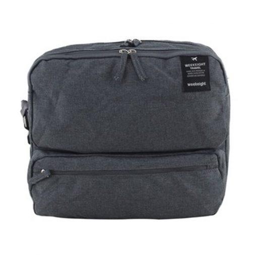 Travel Weekeight Messenger Bag - Gray