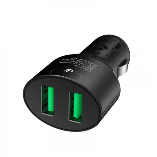 Tronsmart CC2TF 36W Two Port 2 USB Quick Charger 3.0 - Black