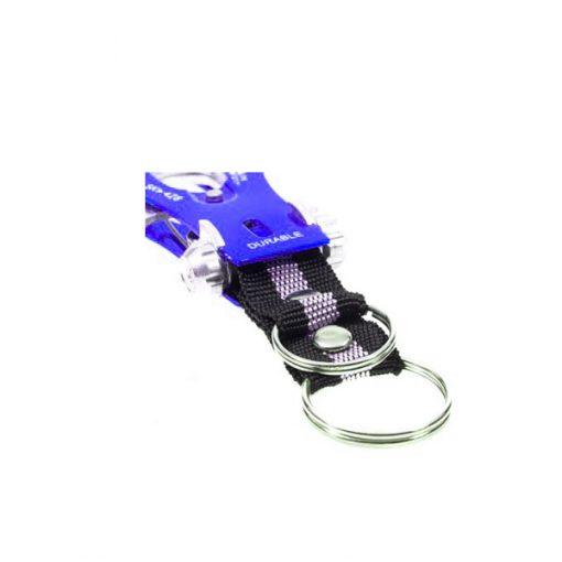 Tuff Durable Metal Hiking Clip - Blue