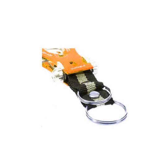 Tuff Durable Metal Hiking Clip - Orange