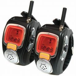Two Pieces Wrist Watch Style Walkie Talkie With Adjustable Band