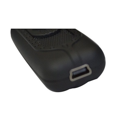 USB Cigarette lighter Rechargeable Power Battery - Black