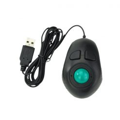 USB Hand Held 4D Track Mouse - Black