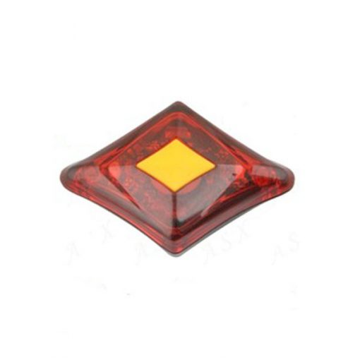 USB Rechargeable Bike Tail Red Light - Red