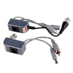 Video Audio Power Balun UTP Network Transceiver
