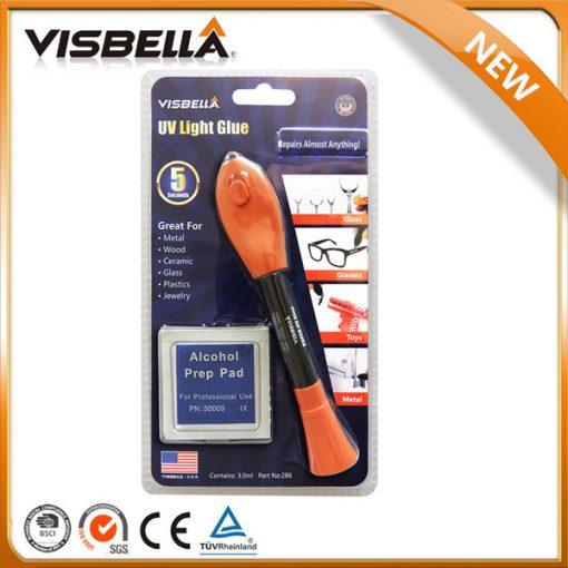 Visbella Magic UV Light Adhesive Glue Pen 5 Seconds Fix - Orange