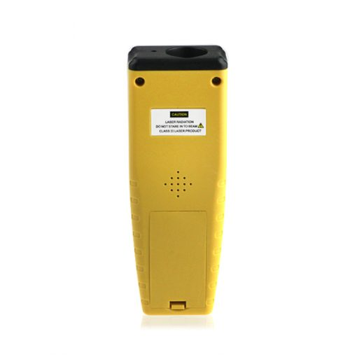 Ultrasonic Distance Measurer Laser Point - Yellow