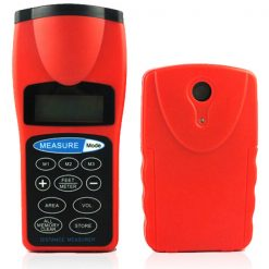 Ultrasonic Distance Measurer and Range Finder 30 Meters - Red